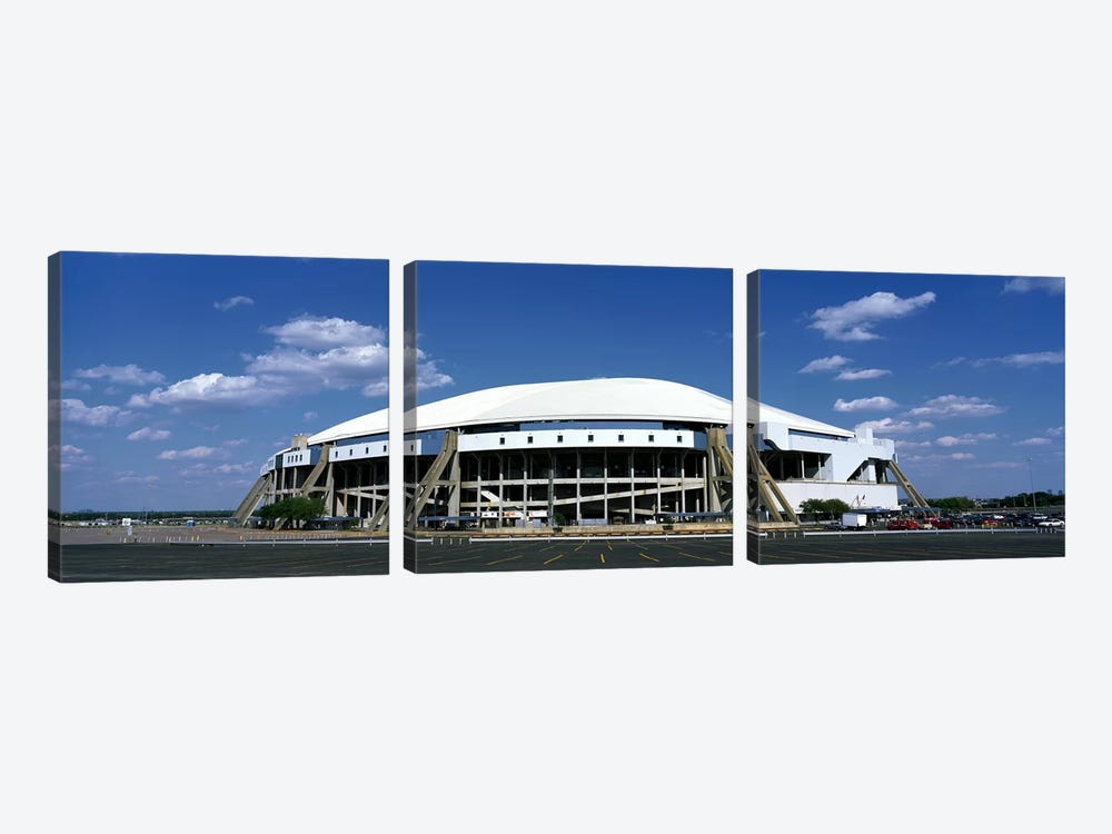 Texas Stadium by Panoramic Images 3-piece Canvas Wall Art