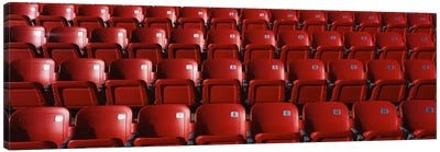 Stadium Seats Canvas Print #PIM3299