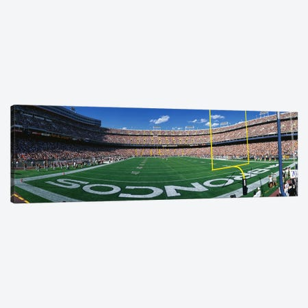 Mile High Stadium Canvas Print #PIM3301} by Panoramic Images Canvas Print
