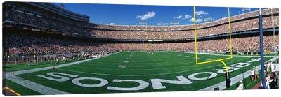 Mile High Stadium Canvas Art Print