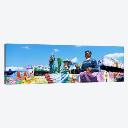 Mardi Gras Floats Canvas Print #PIM3303} by Panoramic Images Art Print