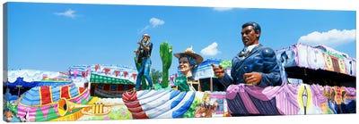 Mardi Gras Floats Canvas Print #PIM3303