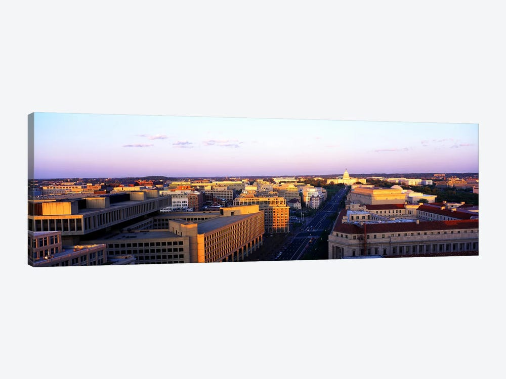 Pennsylvania Ave Washington DC by Panoramic Images 1-piece Canvas Wall Art