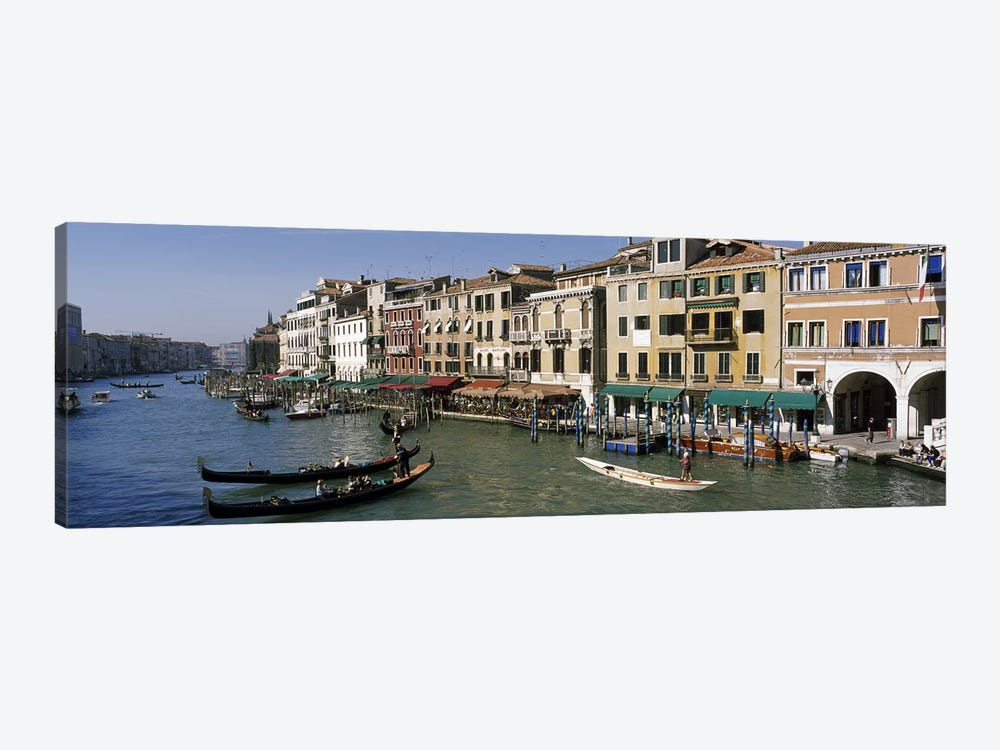 Grand Canal Venice Italy by Panoramic Images 1-piece Canvas Art