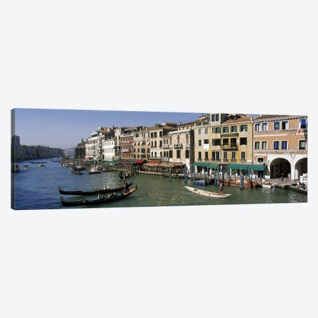 Grand Canal Venice Italy 3-Piece Canvas #PIM3308} by Panoramic Images Canvas Art Print