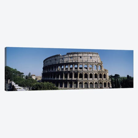 Colosseum (Flavian Amphitheatre), Rome, Lazio Region, Italy Canvas Print #PIM3310} by Panoramic Images Canvas Art