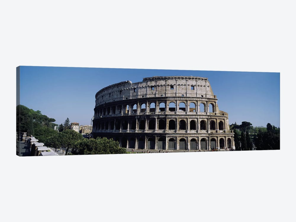Colosseum (Flavian Amphitheatre), Rome, Lazio Region, Italy by Panoramic Images 1-piece Art Print