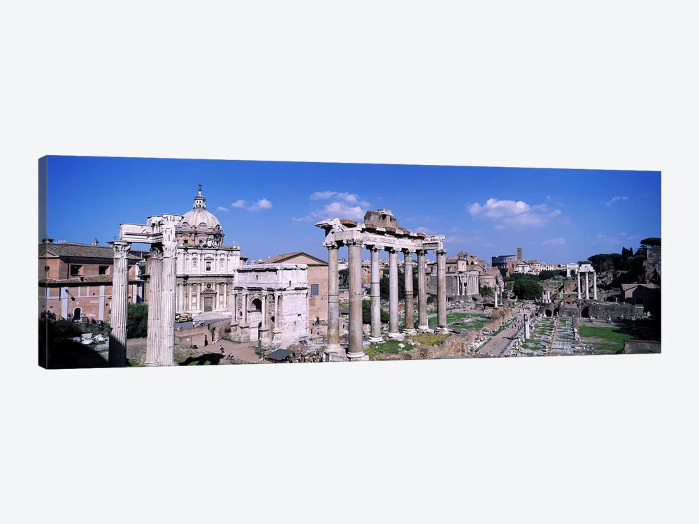 Roman Forum (Forum Romanum), Rome, Lazio Region, Italy by Panoramic Images 1-piece Art Print