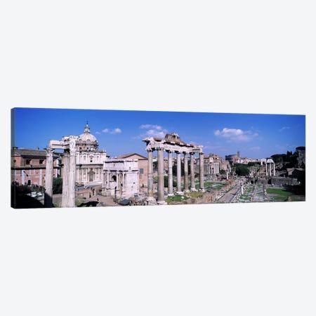 Roman Forum (Forum Romanum), Rome, Lazio Region, Italy Canvas Print #PIM3312} by Panoramic Images Canvas Wall Art