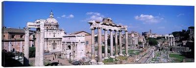 Roman Forum (Forum Romanum), Rome, Lazio Region, Italy Canvas Art Print