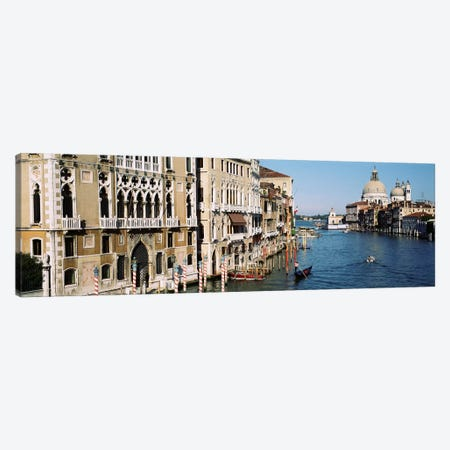 Historic Architecture Along The Grand Canal, Venice, Italy Canvas Print #PIM3313} by Panoramic Images Canvas Art