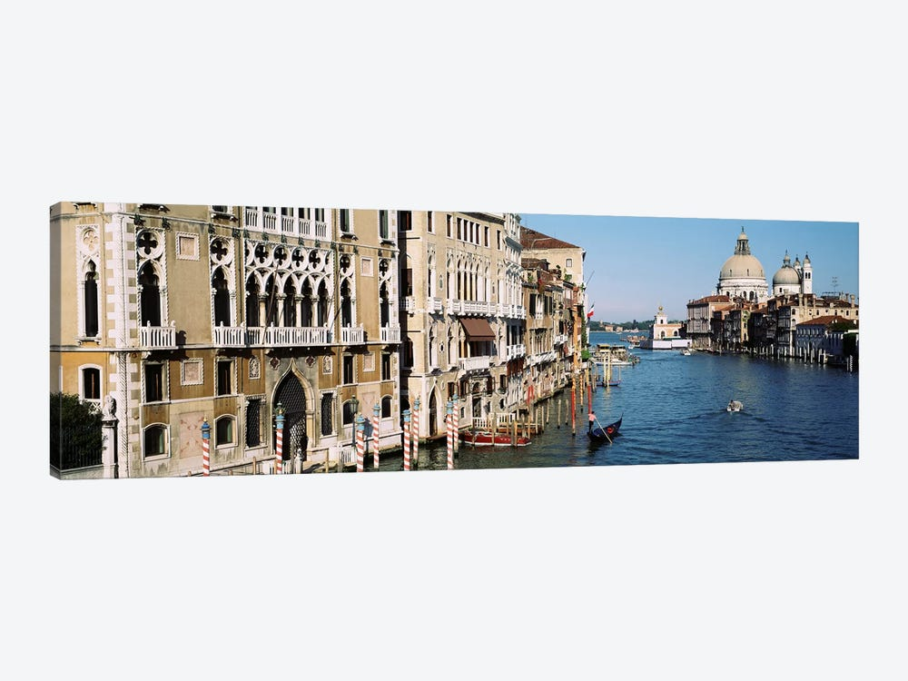 Historic Architecture Along The Grand Canal, Venice, Italy by Panoramic Images 1-piece Canvas Artwork