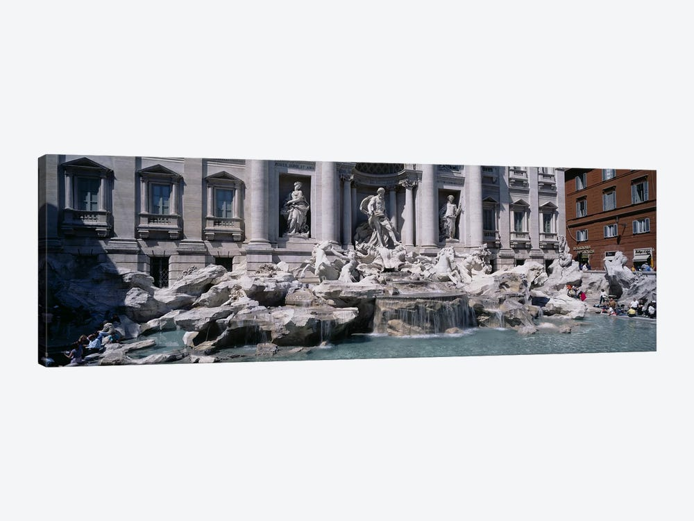 Trevi Fountain, Rome, Lazio, Italy by Panoramic Images 1-piece Canvas Print