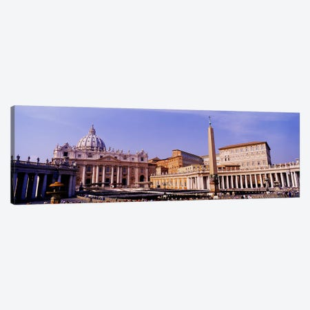 Vatican, St Peters Square, Rome, Italy Canvas Print #PIM3321} by Panoramic Images Canvas Art Print