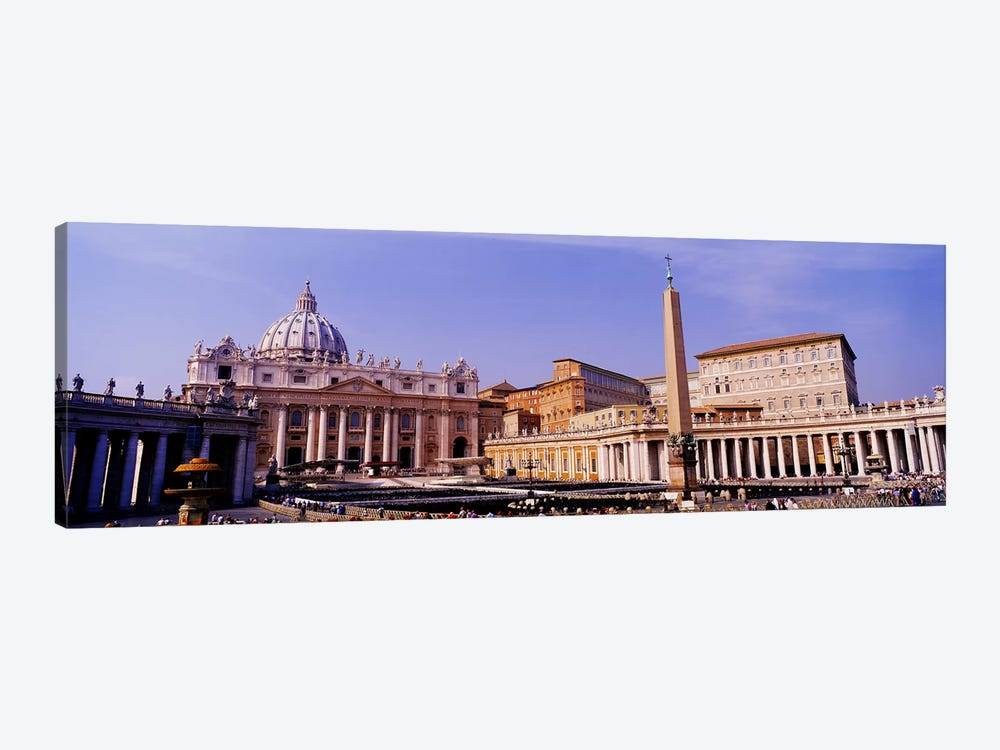 Vatican, St Peters Square, Rome, Italy by Panoramic Images 1-piece Art Print