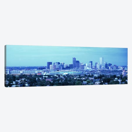 Denver CO Canvas Print #PIM3323} by Panoramic Images Art Print