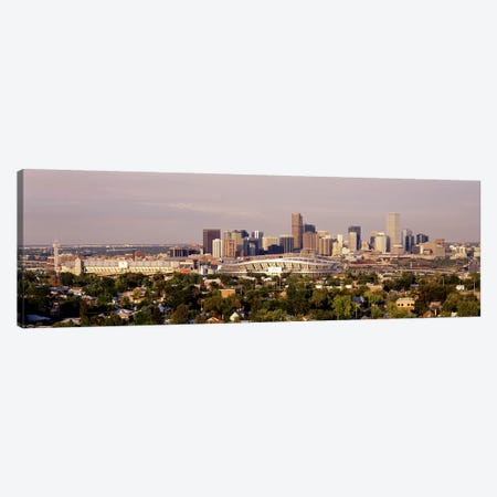 Denver CO #2 Canvas Print #PIM3325} by Panoramic Images Canvas Art