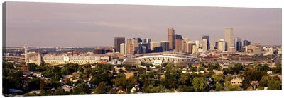 Denver CO #2 Canvas Art Print