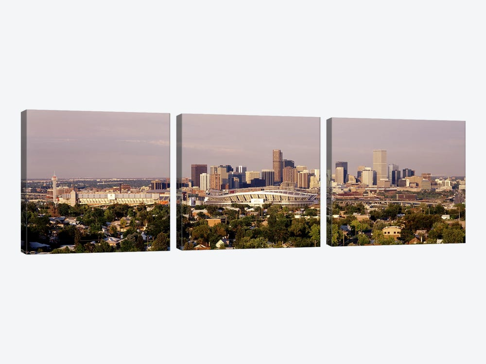 Denver CO #2 by Panoramic Images 3-piece Canvas Print