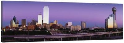 Buildings in a city, Dallas, Texas, USA Canvas Art Print