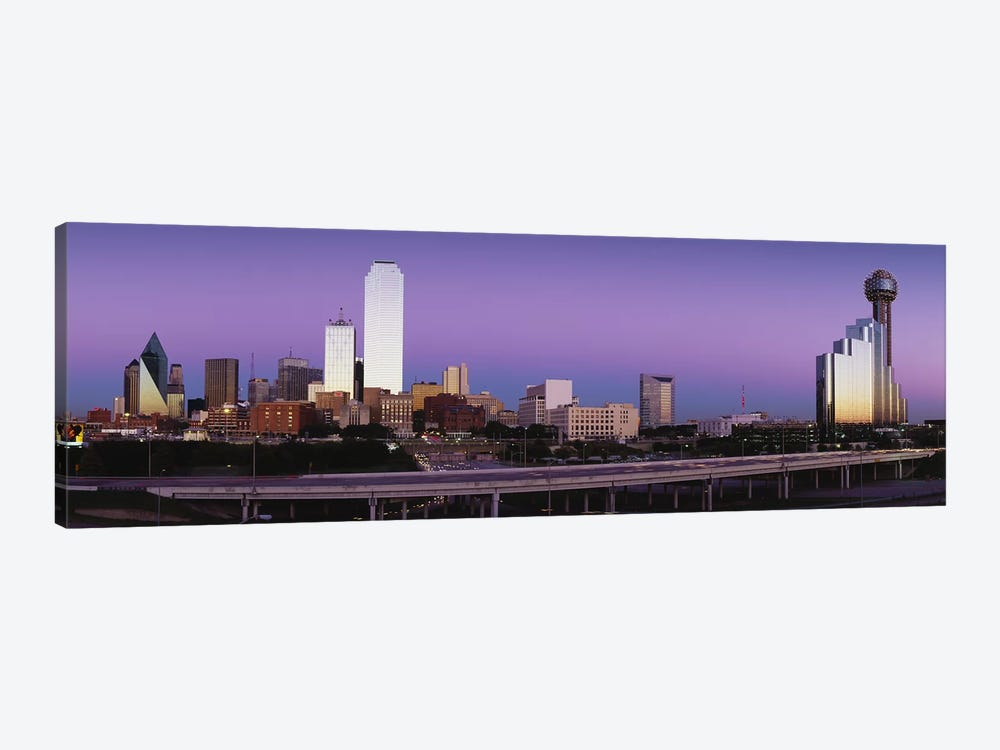 Buildings in a city, Dallas, Texas, USA by Panoramic Images 1-piece Canvas Art