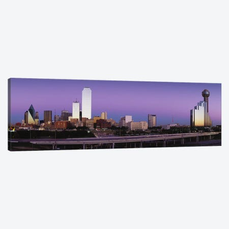 Buildings in a city, Dallas, Texas, USA Canvas Print #PIM3326} by Panoramic Images Canvas Artwork