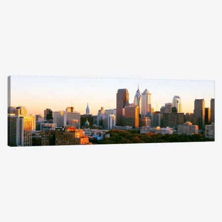 Philadelphia, Pennsylvania, USA #4 Canvas Print #PIM3327} by Panoramic Images Canvas Wall Art