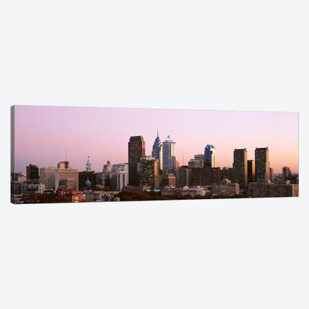 Skyscrapers in a city, Philadelphia, Pennsylvania, USA #2 Canvas Print #PIM3329} by Panoramic Images Canvas Art Print