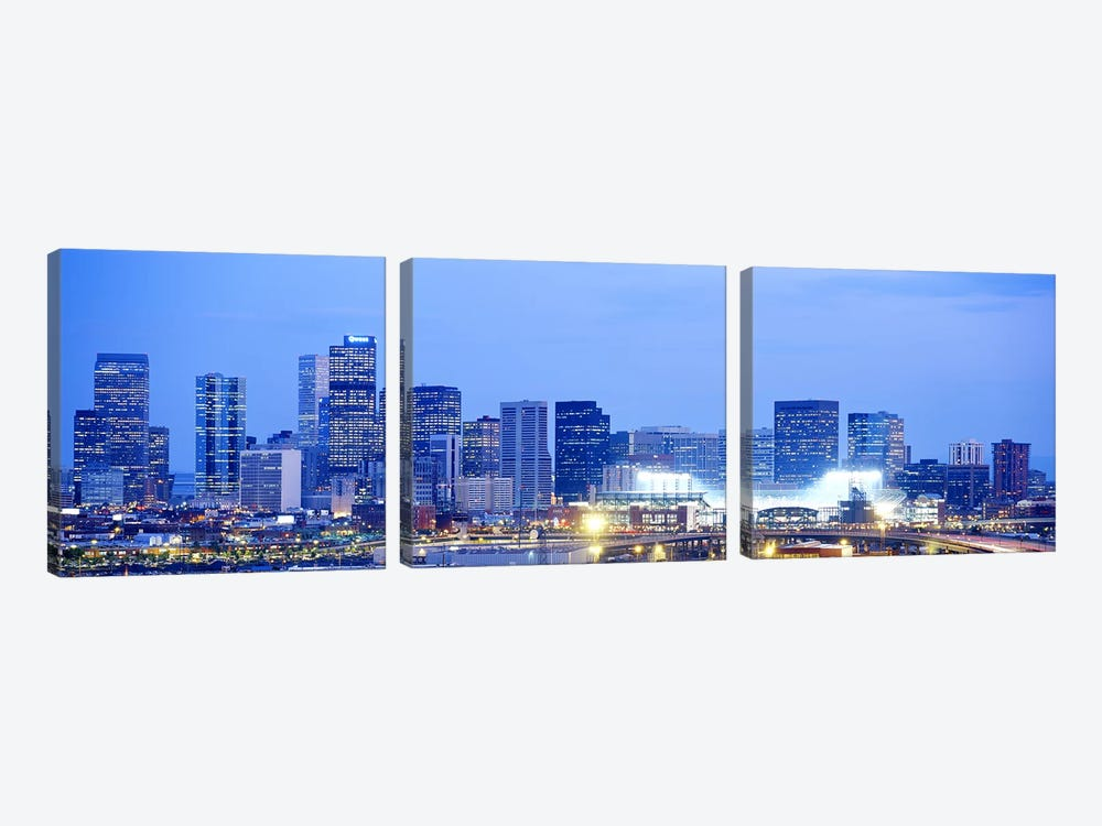 Denver Colorado USA by Panoramic Images 3-piece Art Print