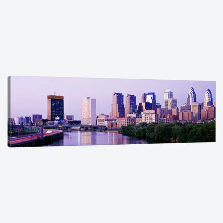 Philadelphia PA #2 Canvas Print #PIM3331} by Panoramic Images Canvas Artwork