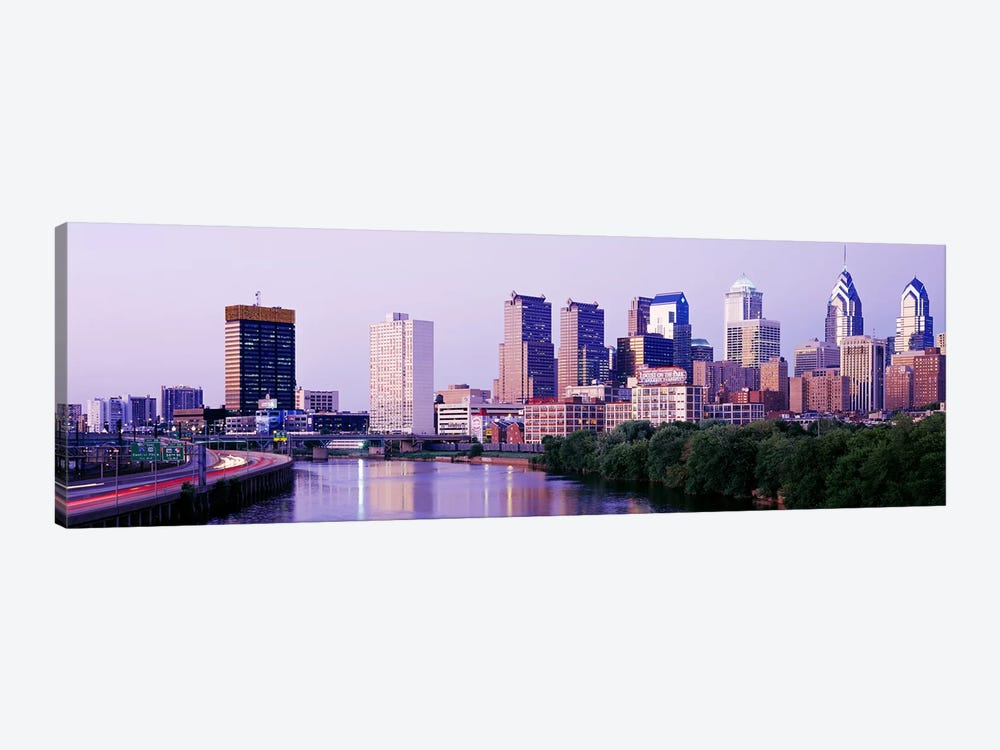 Philadelphia PA #2 by Panoramic Images 1-piece Canvas Artwork
