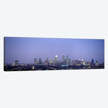 Buildings in a city, Philadelphia, Pennsylvania, USA Canvas Print #PIM3338} by Panoramic Images Canvas Wall Art