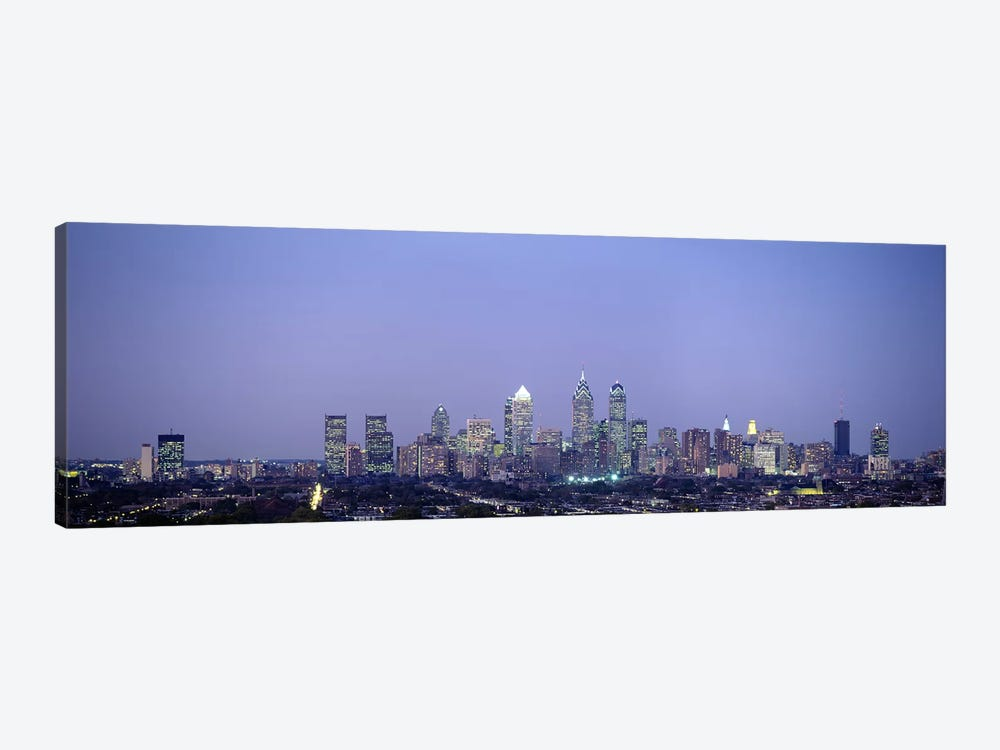 Buildings in a city, Philadelphia, Pennsylvania, USA by Panoramic Images 1-piece Art Print