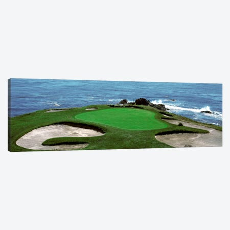 Pebble Beach Golf Course 8th Green Carmel CA Canvas Print #PIM333} by Panoramic Images Canvas Art