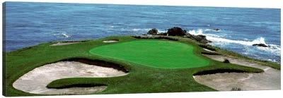 Pebble Beach Golf Course 8th Green Carmel CA Canvas Print #PIM333