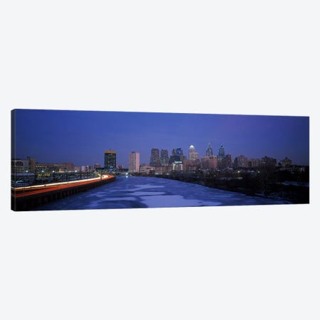 Buildings in a city, Philadelphia, Pennsylvania, USA #2 Canvas Print #PIM3340} by Panoramic Images Canvas Print