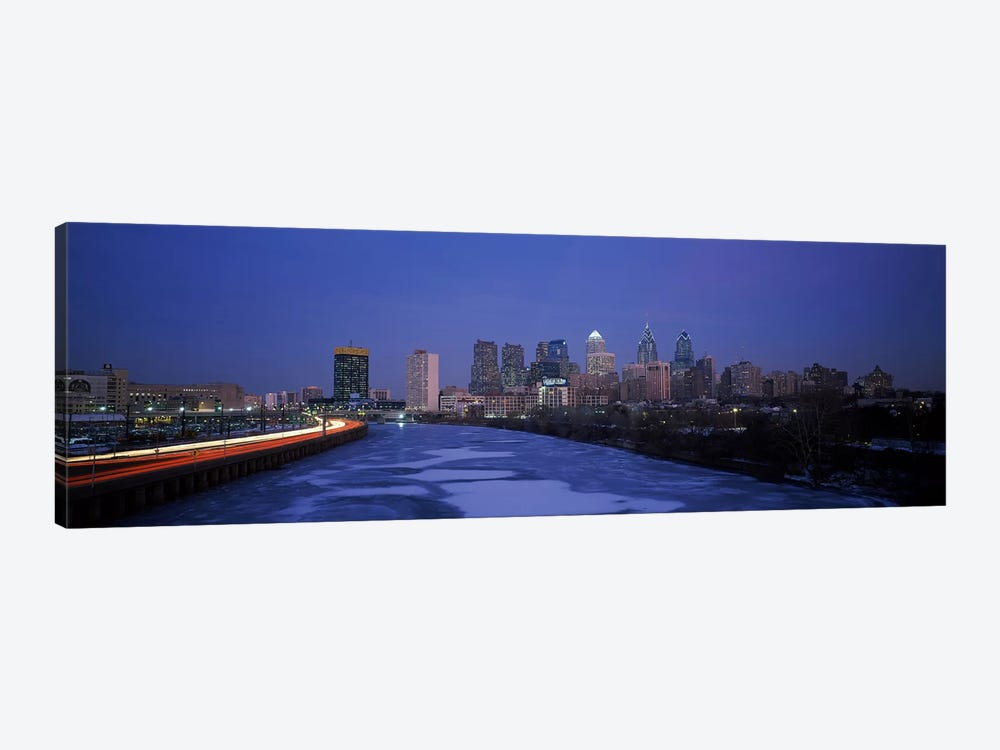 Buildings in a city, Philadelphia, Pennsylvania, USA #2 by Panoramic Images 1-piece Canvas Artwork