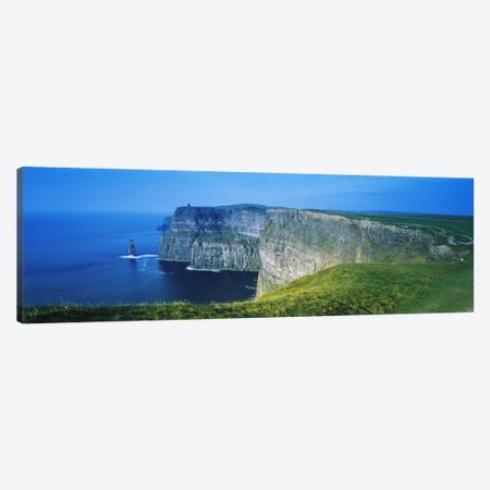 Cliffs Of Moher, County Clare, Republic Of Ireland Canvas Print #PIM3343} by Panoramic Images Canvas Print