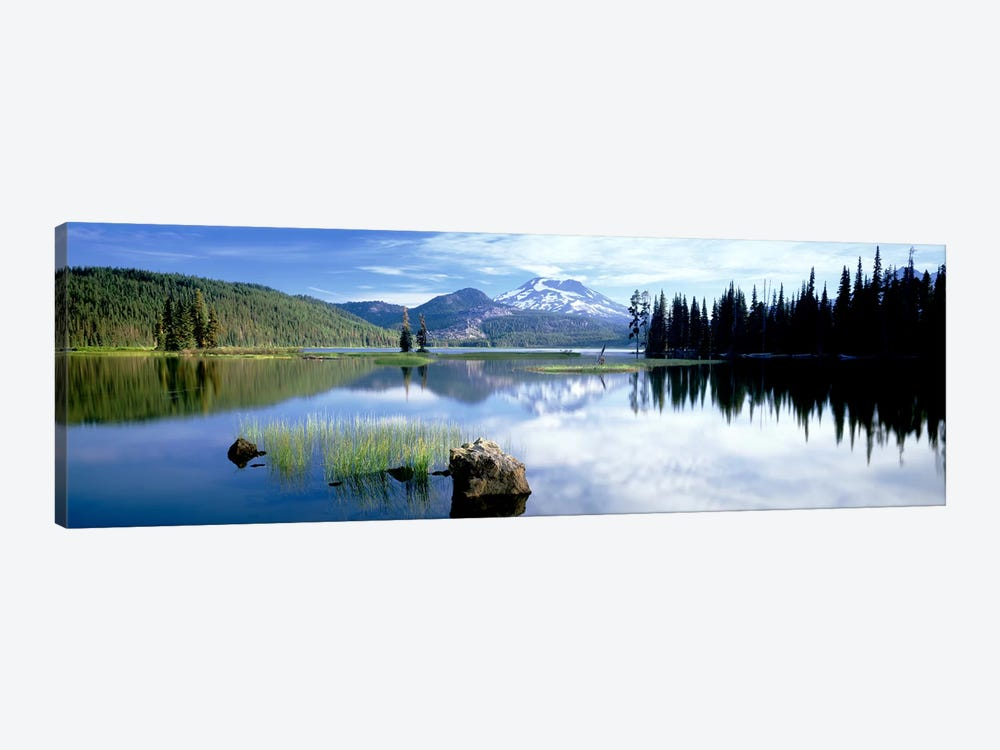 Cascade Mountains, Oregon, USA by Panoramic Images 1-piece Canvas Wall Art