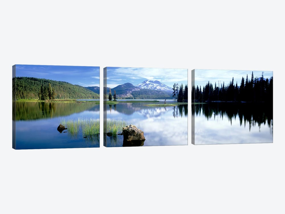Cascade Mountains, Oregon, USA by Panoramic Images 3-piece Canvas Wall Art