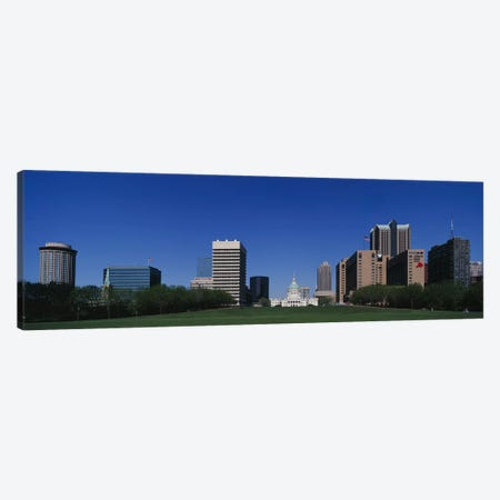 Buildings in a city, St Louis, Missouri, USA Canvas Print #PIM3347} by Panoramic Images Canvas Wall Art