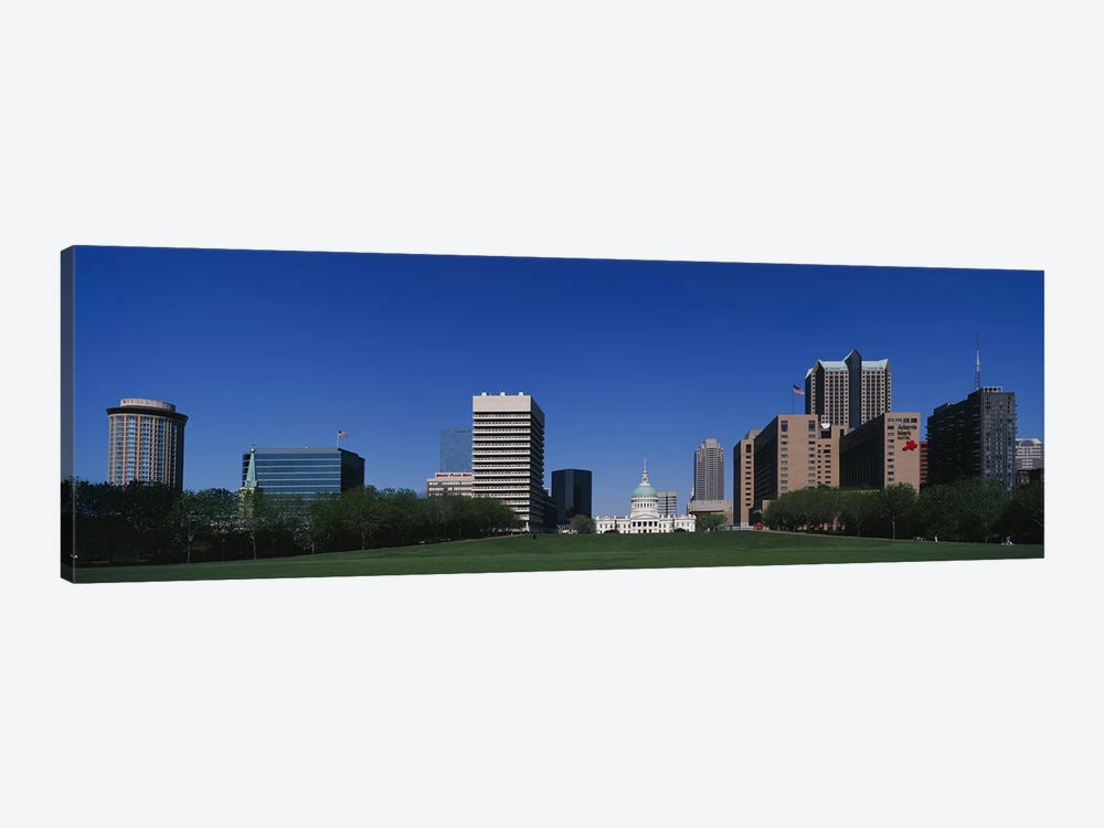 Buildings in a city, St Louis, Missouri, USA by Panoramic Images 1-piece Canvas Print