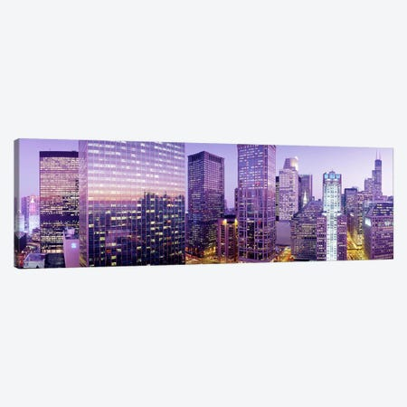 Chicago IL Canvas Print #PIM3350} by Panoramic Images Canvas Art