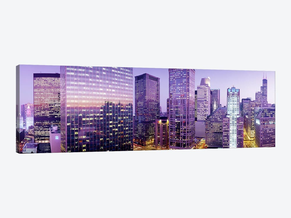 Chicago IL by Panoramic Images 1-piece Canvas Print