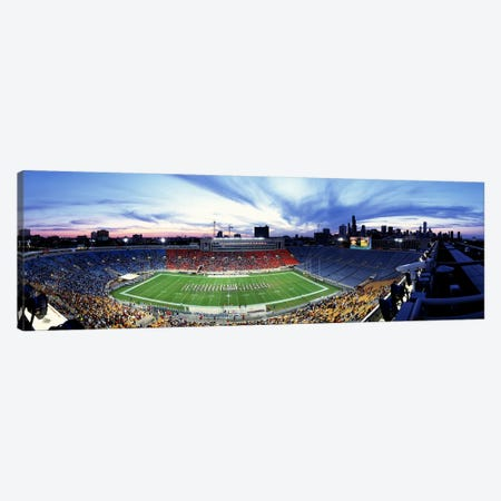 Soldier Field FootballChicago, Illinois, USA Canvas Print #PIM3351} by Panoramic Images Canvas Wall Art