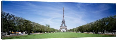 The Eiffel Tower Paris France Canvas Print #PIM3355