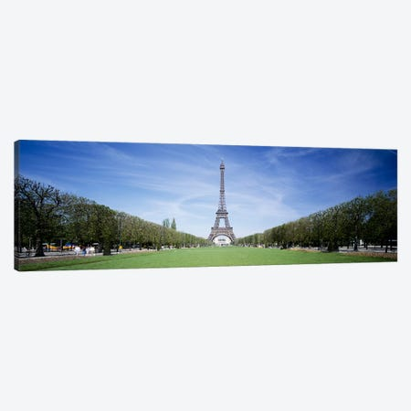 The Eiffel Tower Paris France Canvas Print #PIM3355} by Panoramic Images Canvas Print