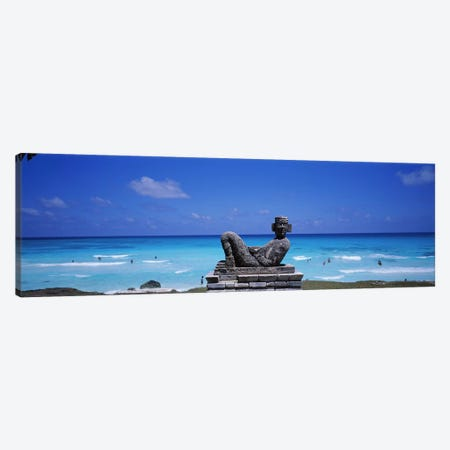Playa Chac-Mool, Cancun, Mexico Canvas Print #PIM3356} by Panoramic Images Canvas Print