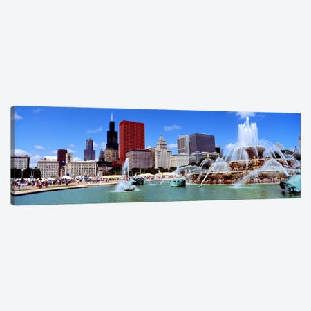 SummerChicago, Illinois, USA Canvas Print #PIM3357} by Panoramic Images Canvas Art Print