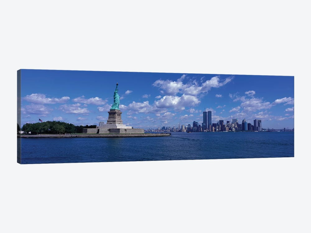 New York, Statue of Liberty, USA 1-piece Canvas Art